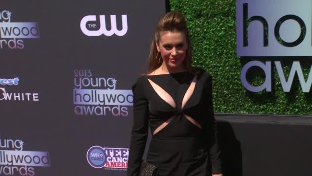 Alyssa Milano at 2013 Young Hollywood Awards on 8/1/2013 in Santa Monica CA