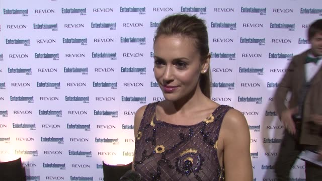 Alyssa Milano at the Entertainment Weekly 6th Annual PreEmmy Party at Los Angeles CA