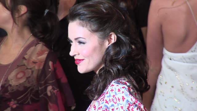 Alyssa Milano at the GM Ten Event in Los Angeles California on February 28 2006
