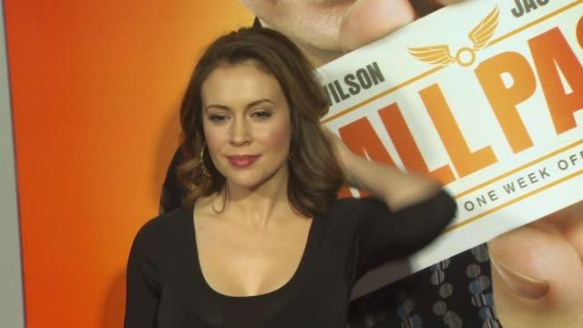 Alyssa Milano at the 'Hall Pass' Premiere at Hollywood CA