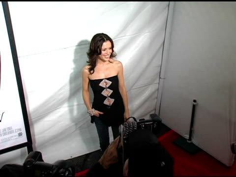 Alyssa Milano at the 'MonsterInLaw' Los Angeles Premiere on April 28 2005