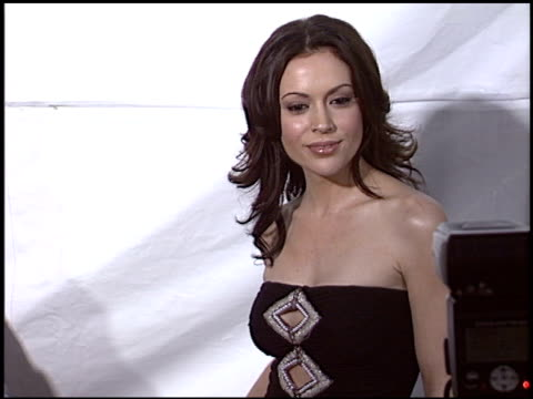 Alyssa Milano at the 'MonsterinLaw' Premiere on April 29 2005