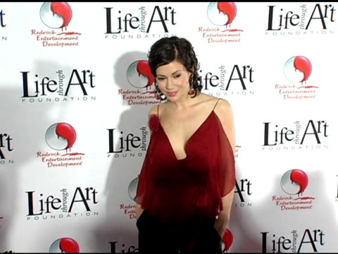 Alyssa Milano at the Red Party Benefiting the Life Through Art Foundation at the Shrine Auditorium in Los Angeles California on December 5 2004