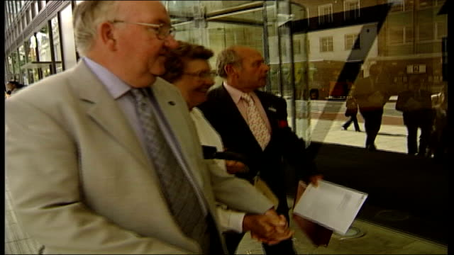 alzheimer's row nice recommends alzheimer's drugs should not be prescribed england london high holborn national institute for health and clinical... - boutonniere stock videos and b-roll footage