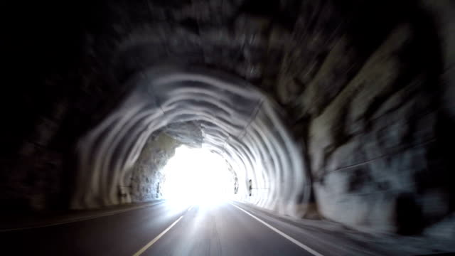 i am not claustrophobic to tunnels - coastal feature stock videos & royalty-free footage