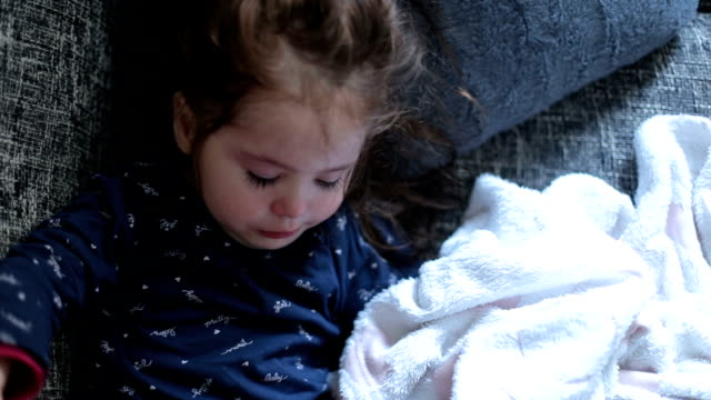 am sad - babies in a row stock videos & royalty-free footage