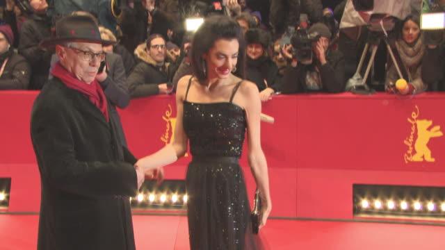 Amal Clooney at 'Hail Caesar' Opening Ceremony Red Carpet 66th Berlin International Film Festival at Grand Hyatt Hotel on February 11 2016 in Berlin...