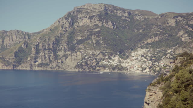 amalfi coast and sorrento peninsula: positano - coastal road stock videos & royalty-free footage