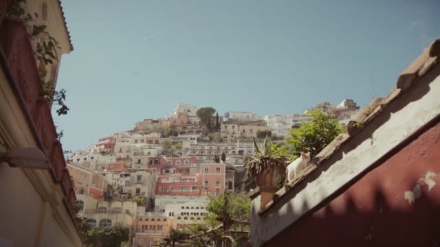 amalfi coast and sorrento peninsula: positano - amalfi stock videos and b-roll footage