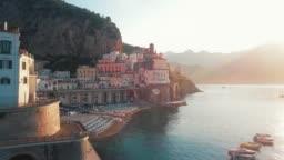 Amalfi Coast drive by Dawn