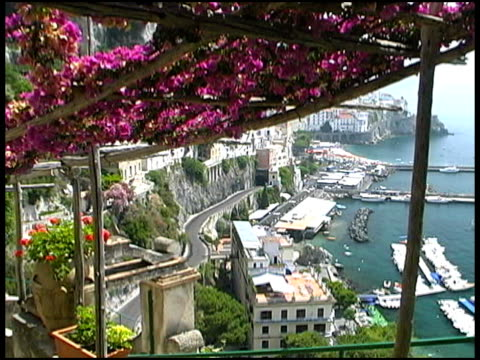 Amalfi Coast from Above: Italy