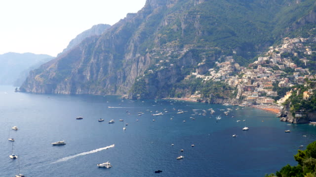 amalfi coast, salerno, italy - mediterranean culture stock videos & royalty-free footage