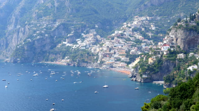 amalfi coast, salerno, italy - ledge stock videos & royalty-free footage
