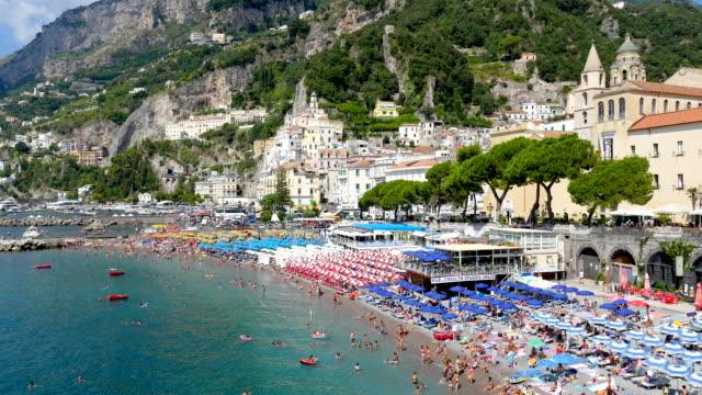 amalfi coast, salerno, italy - amalfi stock videos and b-roll footage