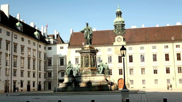 amalienburg in the hofburg complex, vienna - the hofburg complex stock videos & royalty-free footage