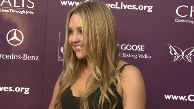 Amanda Bynes at the 8th Annual Chrysalis Butterfly Ball at Los Angeles CA