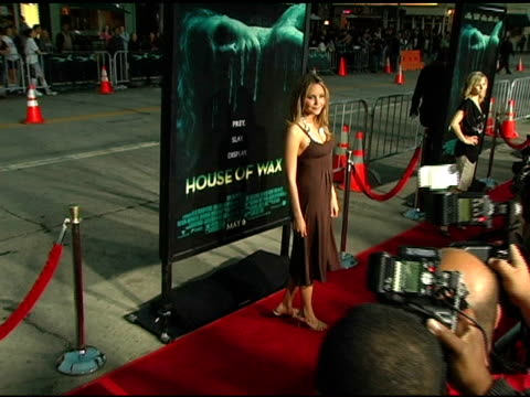 Amanda Bynes at the 'House of Wax' Premiere on April 26 2005