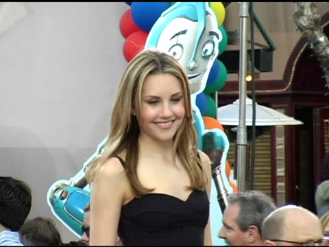 Amanda Bynes at the 'Robots' World Premiere at the Mann Village Theatre in Westwood California on March 6 2005