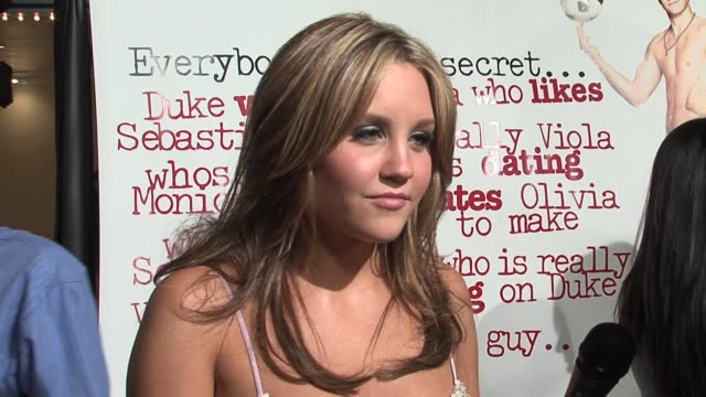 Amanda Bynes on her character dressing and acting like a boy her favorite scenes in the film and on Shakespeares Twelfth Night at the She's the Man...