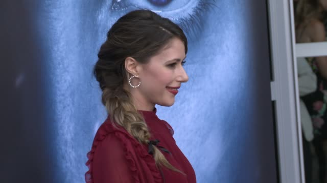 Amanda Crew at 'Game of Thrones' Season 7 Premiere at Walt Disney Concert Hall on July 12 2017 in Los Angeles California