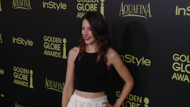Amanda Crew at HFPA And InStyle Celebrate The 2014 Golden Globe Awards Season at Fig Olive Melrose Place on November 20 2014 in West Hollywood...