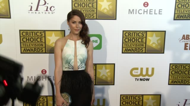 Amanda Crew at the 2014 Critics' Choice Television Awards at The Beverly Hilton Hotel on June 19 2014 in Beverly Hills California