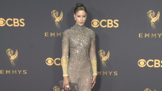 Amanda Crew at the 69th Annual Primetime Emmy Awards at Microsoft Theater on September 17 2017 in Los Angeles California