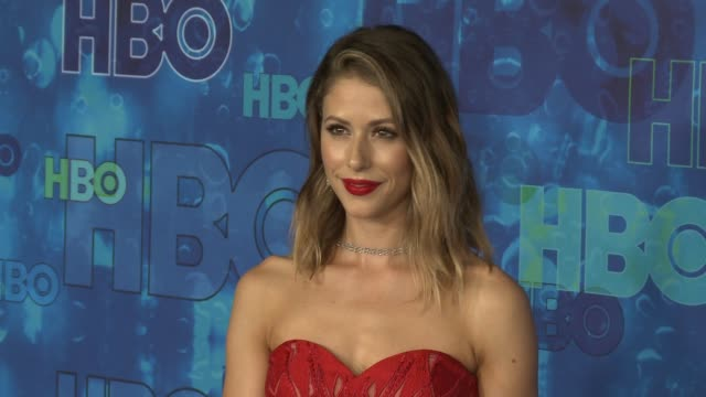 Amanda Crew at the HBO's Post Emmy Awards Reception Arrivals at The Plaza at the Pacific Design Center on September 18 2016 in Los Angeles California