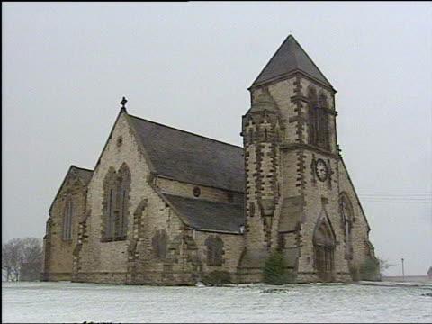 DNA match TTTV ENGLAND Sunderland GVs St Paul's Church GVs Empty church Reverend David Meakin interviewed on find SOT