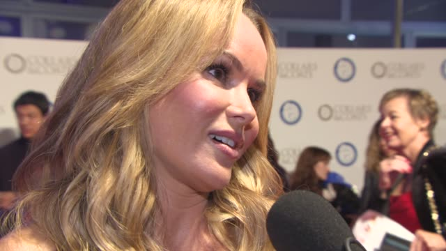 interview amanda holden on being an ambassador for battersea dogs home on simon cowell's dogs squiddly and diddly the story behind her twitter... - paul o'grady stock videos & royalty-free footage