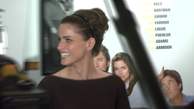 amanda peet at the 'the ex' premiere at director's guild of america in new york new york on may 3 2007 - director's guild of america stock-videos und b-roll-filmmaterial