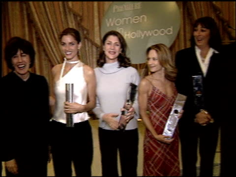 amanda peet at the women in hollywood luncheon at the four seasons hotel in beverly hills california on october 11 2000 - amanda peet stock videos & royalty-free footage