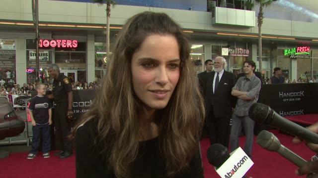 amanda peet on attending the event and supporting jason bateman what the film's cast brings to the table what superhero she wanted to be growing up... - amanda peet stock videos & royalty-free footage