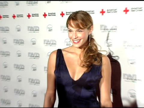 vidéos et rushes de amanda righetti at the dvd exclusive awards at california science center in los angeles, california on february 8, 2005. - exclusivité