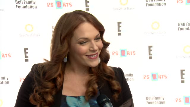 Amanda Righetti on holiday plans at PS ARTS 2012 Express Yourself on 11/11/12 in Los Angeles CA