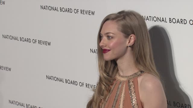 Amanda Seyfried 2013 National Board Of Review Awards Gala Arrivals at Cipriani Wall Street on January 08 2013 in New York New York