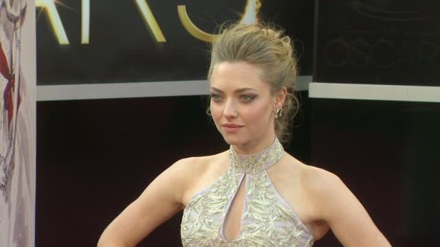 Amanda Seyfried at 85th Annual Academy Awards Arrivals 2/24/2013 in Hollywood CA