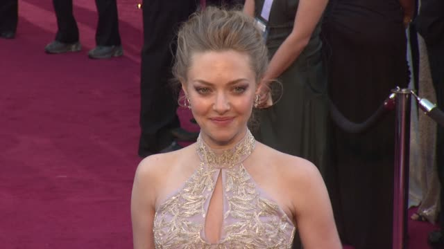 Amanda Seyfried at 85th Annual Academy Awards Arrivals in Hollywood CA on 2/24/13