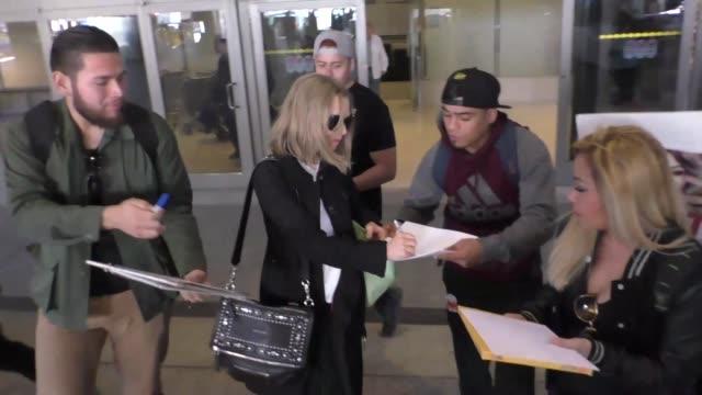 Amanda Seyfried at Los Angeles International Airport at Celebrity Sightings in Los Angeles on February 05 2016 in Los Angeles California