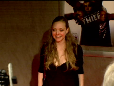 Amanda Seyfried at the 'Thief' Los Angeles Premiere on March 21 2006