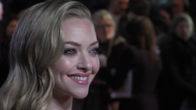 Amanda Seyfried at the World Premiere of Les Miserables at the Odeon Leicester Square on December 5 2012 in London England