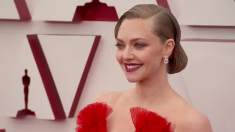 amanda seyfried at the93rd annual academy awards - arrivals onapril25, 2021. - academy of motion picture arts and sciences stock videos & royalty-free footage