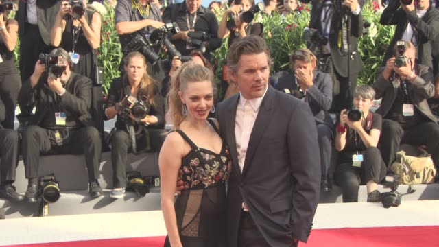 Amanda Seyfried Ethan Hawke at 'First Reformed' Red Carpet 74th Venice International Film Festival at Palazzo del Cinema on August 31 2017 in Venice...