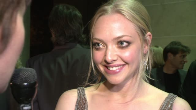 Amanda Seyfried on acting afraid and taking blood and guts seriously on her role in the film vs who she really was in high school at the 'Jennifer's...