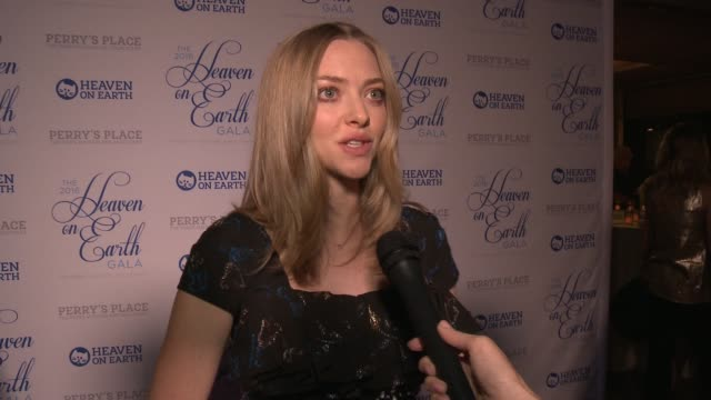 INTERVIEW Amanda Seyfried on the event being honored on her dog why it's important when Hollywood gets involved in animal welfare and rescue causes...