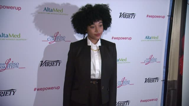 Amandla Stenberg at AltaMed Power Up We Are The Future Gala in Los Angeles CA