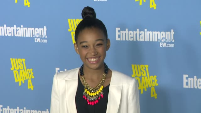 Amandla Stenberg at Entertainment Weekly's 6th Annual ComicCon Celebration Sponsored By Just Dance 4 on 7/14/12 in San Diego CA