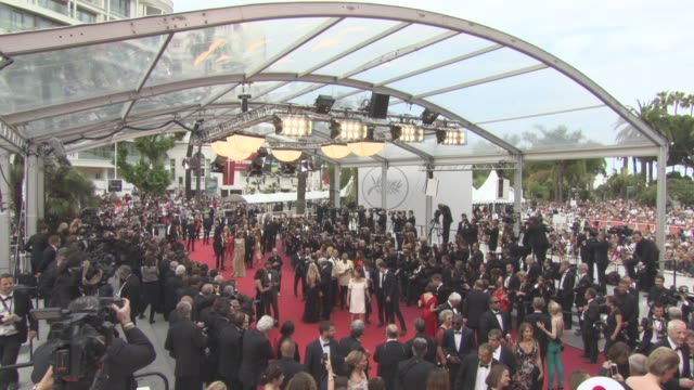 ATMOSPHERE 'L'Amant Double' Official Screening Red Carpet on May 26 2017 in Cannes France