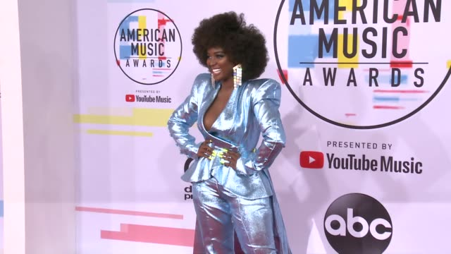 Amara La Negra at the 2018 American Music Awards at Microsoft Theater on October 09 2018 in Los Angeles California