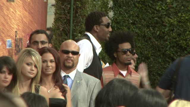 amare stoudemire at the spike tv's 2nd annual guys' choice awards at sony studios in los angeles california on may 31 2008 - spike guys choice awards video stock e b–roll